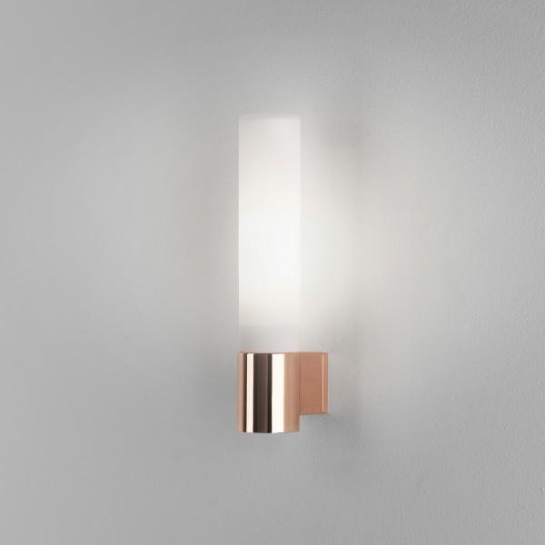Astro Bari Bathroom Wall Light in Polished Copper