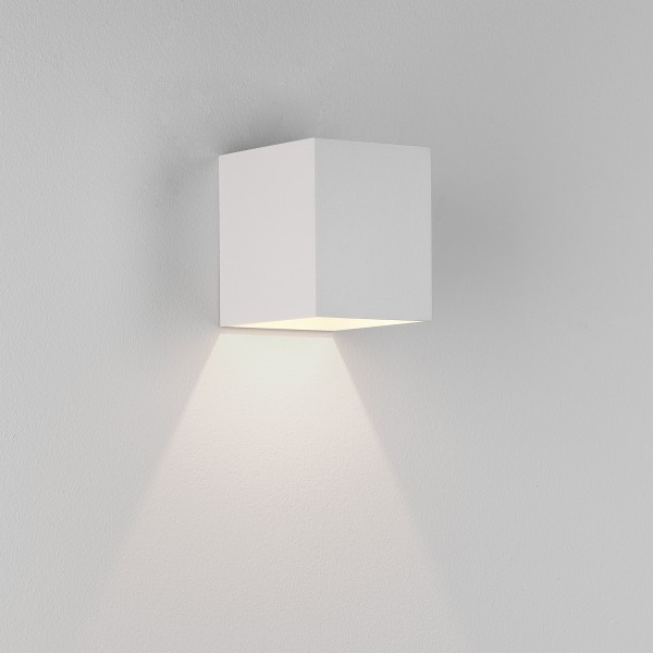 Astro Kinzo 110 LED Indoor Wall Light in Textured White