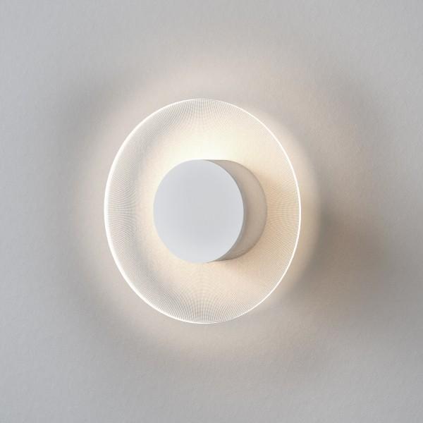 Astro Halftone 400 Indoor Wall Light in Matt White