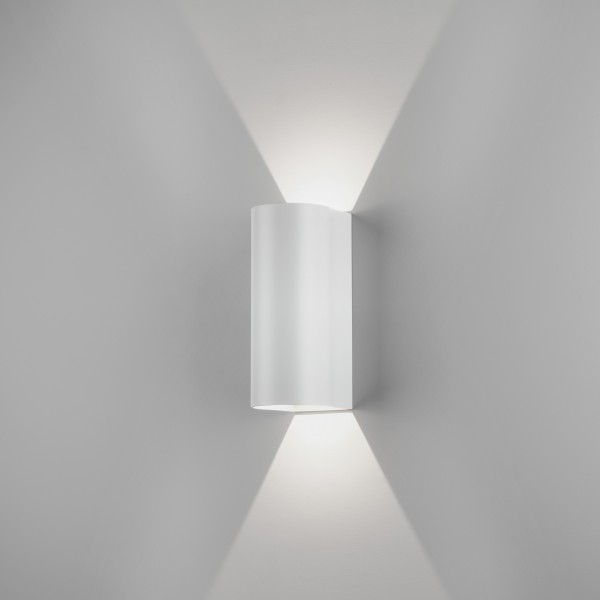 Astro Dunbar 255 LED Outdoor Wall Light in Textured White