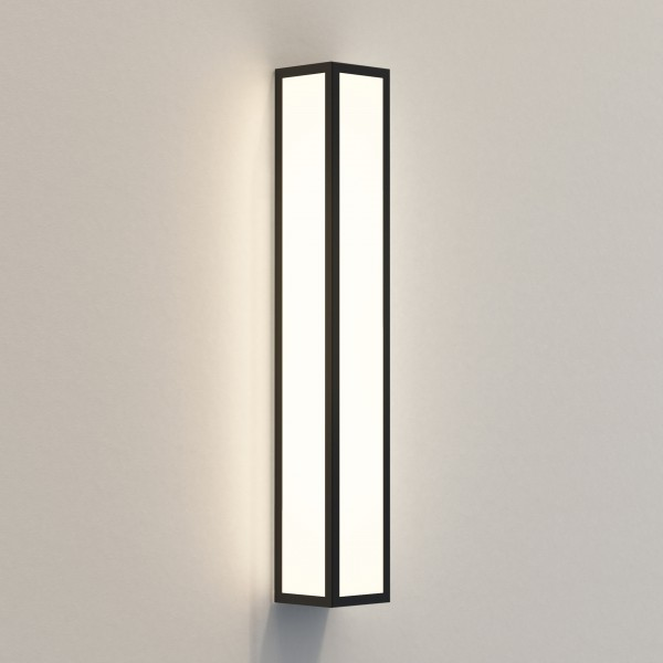 Astro Salerno 520 LED Outdoor Wall Light in Textured Black
