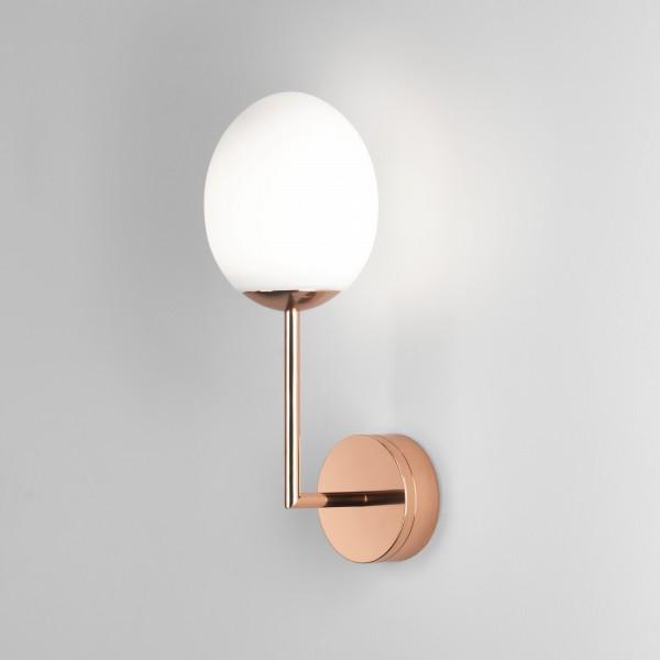 Astro Kiwi Wall Bathroom Wall Light in Polished Copper