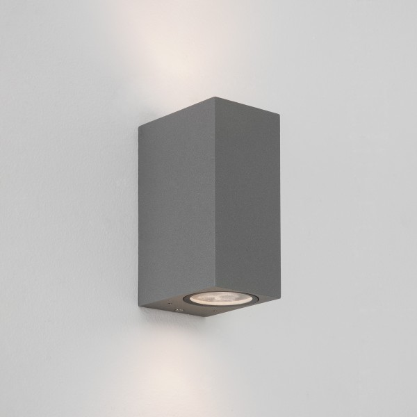 Astro Chios 150 Outdoor Wall Light in Textured Grey