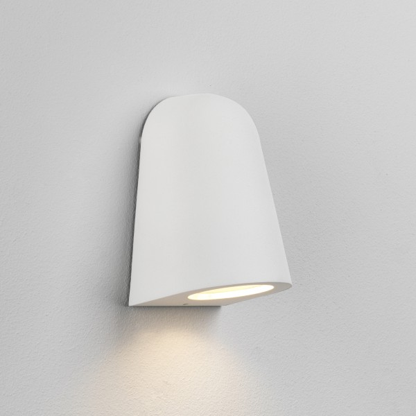Astro Mast Light Outdoor Wall Light in Textured White