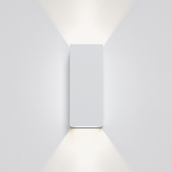 Astro Kinzo 260 LED Indoor Wall Light in Textured White