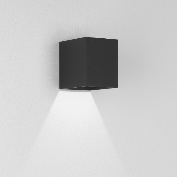 Astro Kinzo 110 LED Indoor Wall Light in Textured Black
