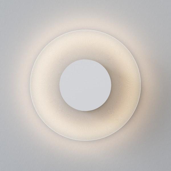 Astro Halftone 600 Indoor Wall Light in Matt White