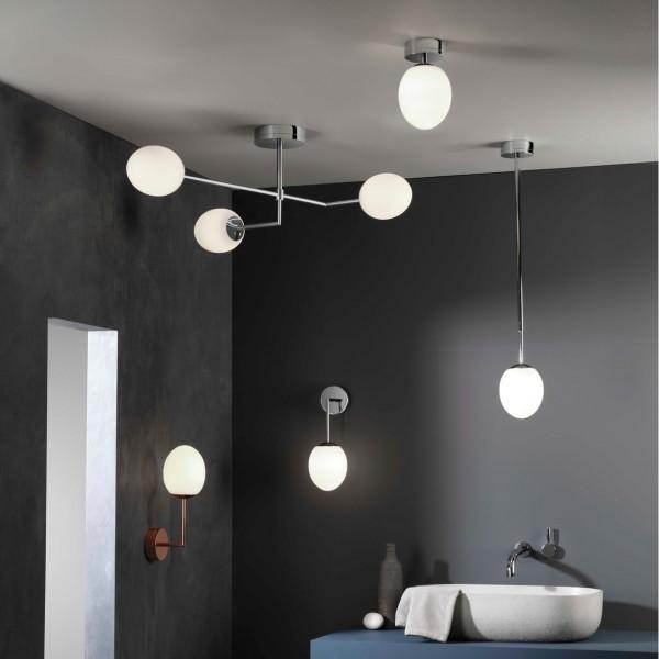 Astro Kiwi Wall Bathroom Wall Light in Polished Chrome