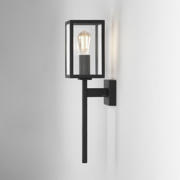 Astro Coach 100 Outdoor Wall Light in Textured Black