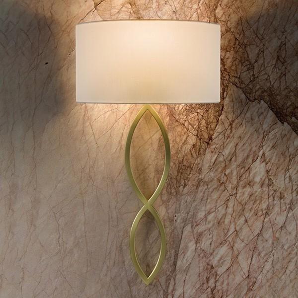 Astro Caserta Indoor Wall Light in Matt Gold