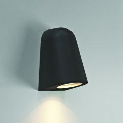 Astro Mast Light Outdoor Wall Light in Textured Black