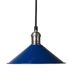 Culinary Concepts SH22-E14-BLU Cafe De Paris Blue Pendant