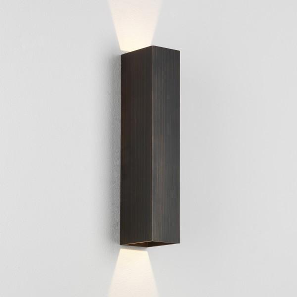 Astro Kinzo 300 LED Indoor Wall Light in Bronze