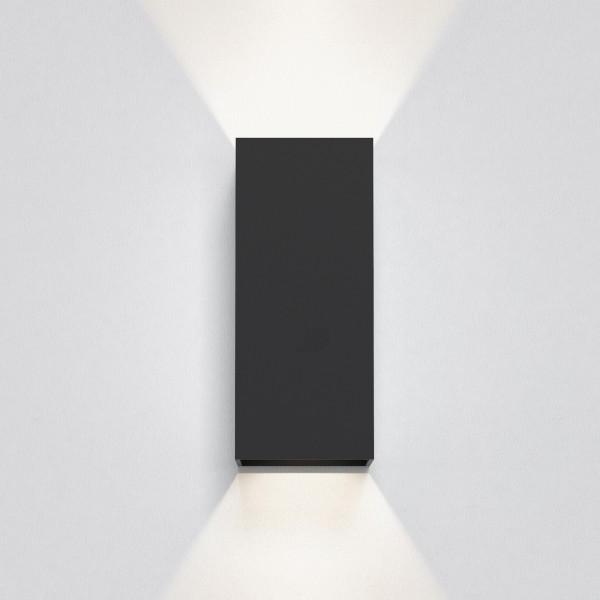 Astro Kinzo 210 LED Indoor Wall Light in Textured Black