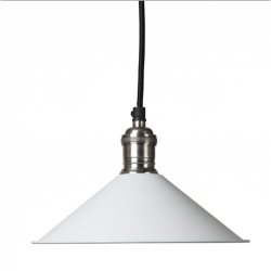 Culinary Concepts SH22-E14-OW Cafe De Paris Off White Pendant