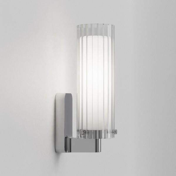 Astro Ottavino Wall Bathroom Wall Light in Polished Chrome