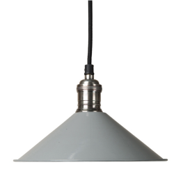 Culinary Concepts SH22-E14-LGR Cafe De Paris Grey Pendant