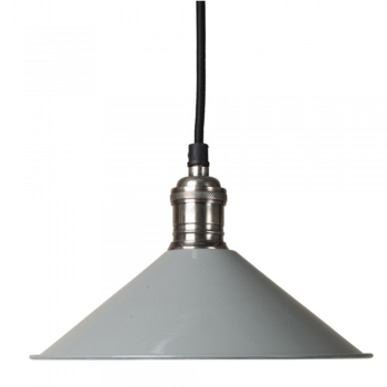 Culinary Concepts SH22-E14-LGR Cafe De Paris Grey Pendant