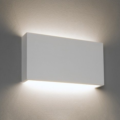 Astro Rio 325 LED Phase Dimmable Indoor Wall Light in Plaster