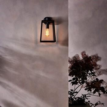 Astro Calvi Wall 305 Outdoor Wall Light in Textured Black