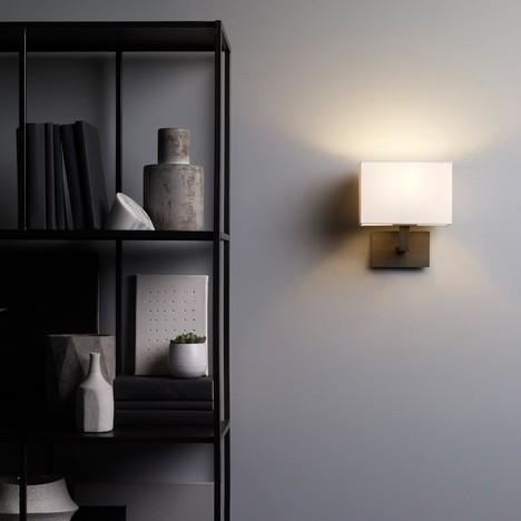 Astro Connaught Indoor Wall Light in Bronze