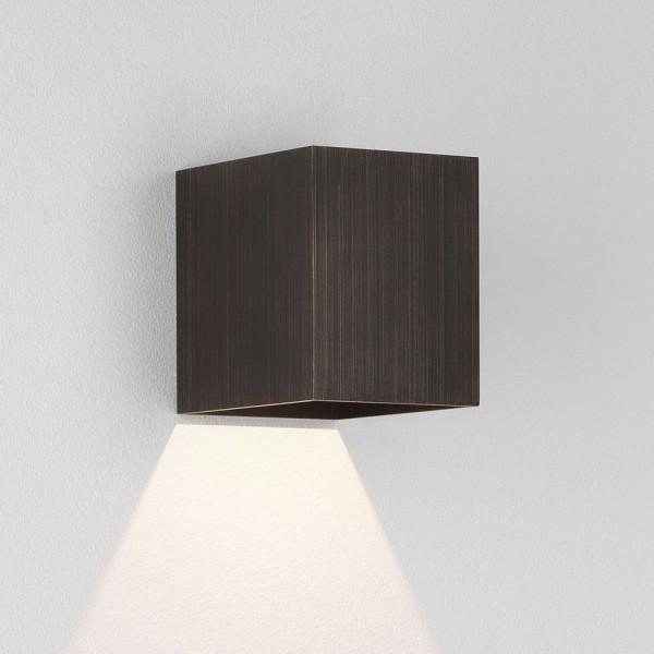 Astro Kinzo 110 LED Indoor Wall Light in Bronze
