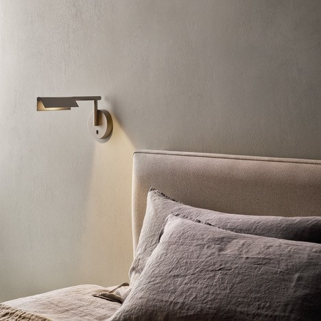 Astro Fold Wall LED Indoor Wall Light in Matt White