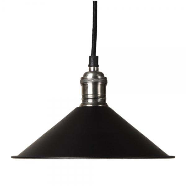 Culinary Concepts SH22-E14-BLK Cafe De Paris Black Pendant