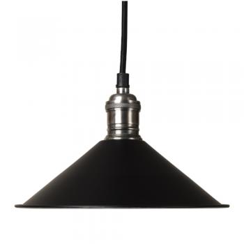 Culinary Concepts SH22-E14-BLK Cafe De Paris Black Pendant