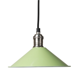 Culinary Concepts SH22-E14-LMG Cafe De Paris Lime Green Pendant