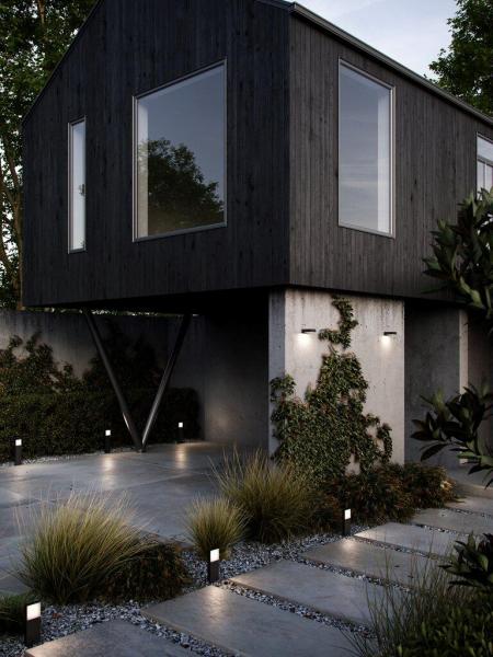 Nordlux 2019108003 Piana 50 Outdoor Garden Light in Black
