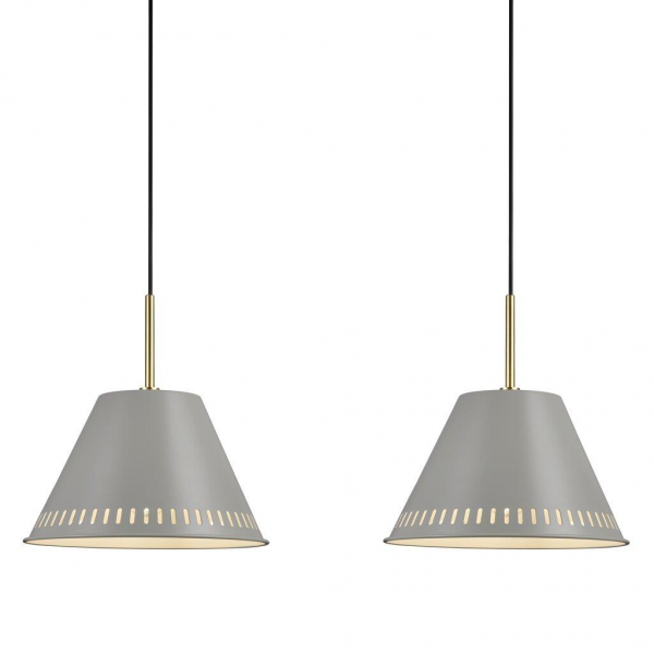 Nordlux 2010363010 Pine 2-Kit Pendant Light in Grey