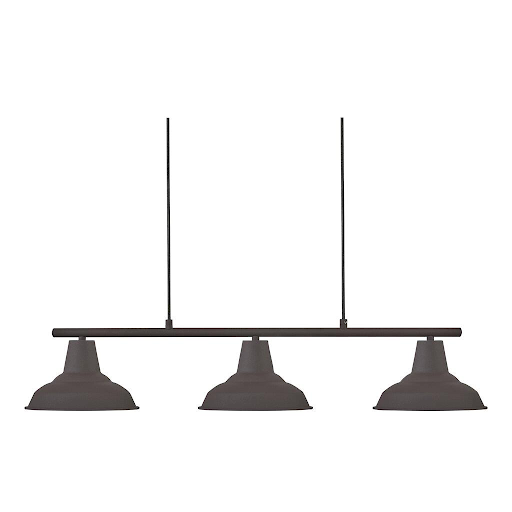 Nordlux 2011103003 Andy 3-Pendant Light in Rusty Brown