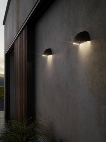 Nordlux 2019001003 Arcus Smart Wall Light in Black