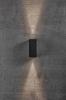 Nordlux 2019071003 Asbol Kubi LED Outdoor Wall Light in Black