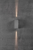 Nordlux 2019071010 Asbol Kubi LED Outdoor Wall Light in Grey