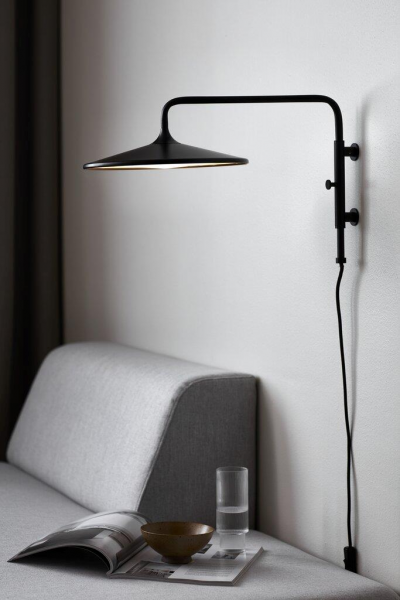Nordlux 2010121003 Balance LED Wall Lamp in Black