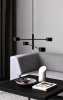 Nordlux 2010803003 Clyde 4 Light Pendant in Black