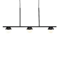 Nordlux 2010953003 Contina 3 Light Pendant in Black