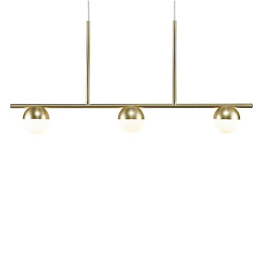 Nordlux 2010953035 Contina 3 Light Pendant in Brass