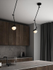 Nordlux 2010971003 Contina Wall Light in Black