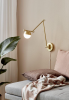 Nordlux 2010971035 Contina Wall Light in Brass
