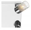 Dar Lighting ART8550 Artemis 4 Light Plate Polished Chrome IP44