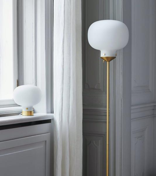 Nordlux 820244 Raito Glass Globe Floor Lamp