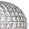 Dar Lighting PLA0350 Plaza 3 Light Pendant Polished Chrome