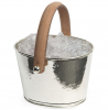 Culinary Concepts 6119-CH Champagne Hammered Ice Bucket