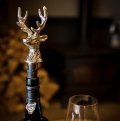 Culinary Concepts SG-100-12775 Stag Head Bottle Stopper