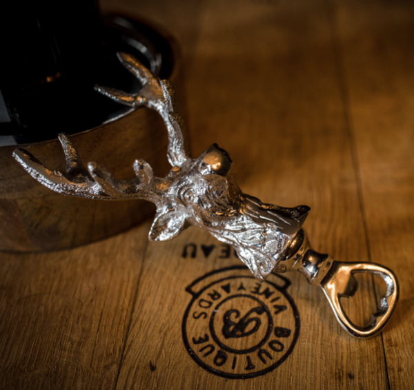 Culinary Concepts SG102-12781 Stag Head Bottle Opener