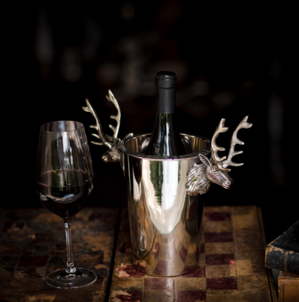 Culinary Concepts DEER-6120 Stag Single Wine Bottle Cooler