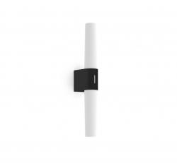 Nordlux 2015311003 Helva Double Basic Wall Light in Black